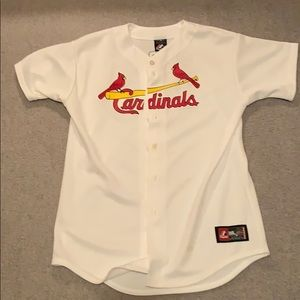 Albert Pujols Cardinals Majestic Jersey Youth